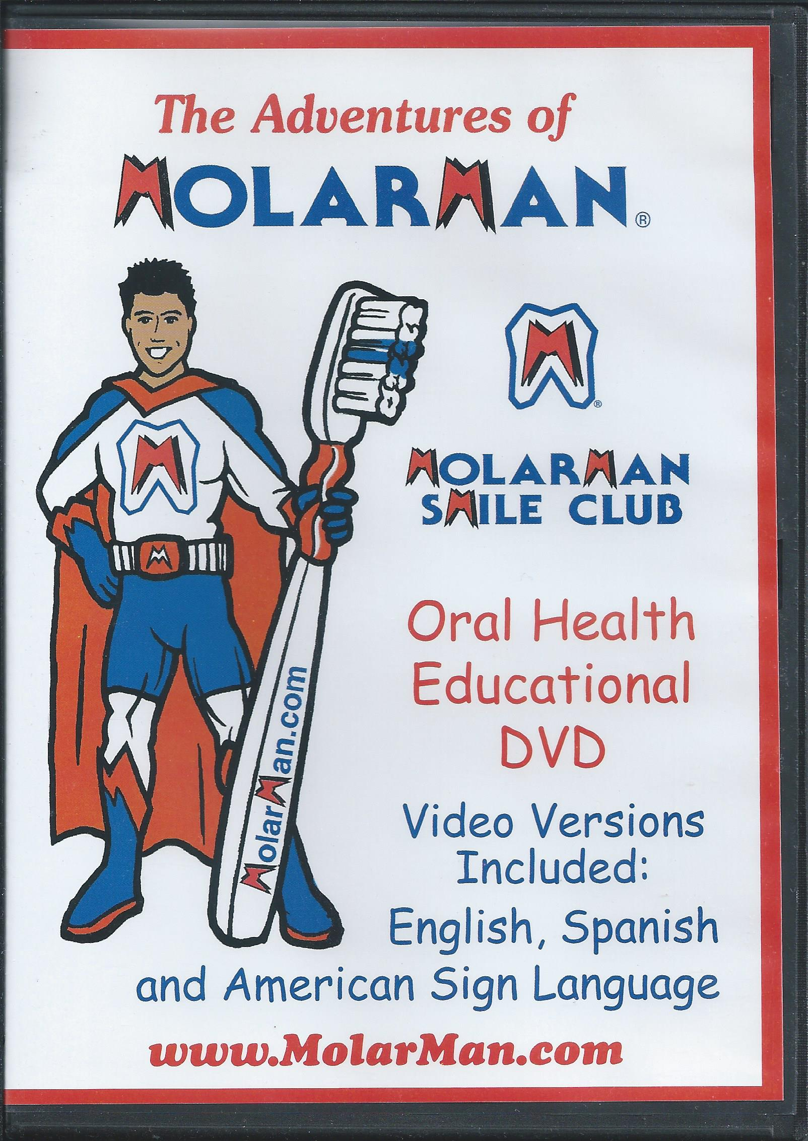 MolarMan DVD